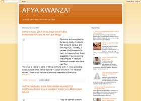 kwanzaafya.blogspot.com