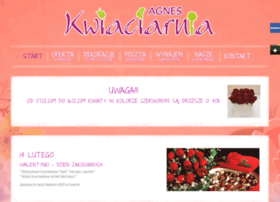 kwiaciarniaagnes.pl