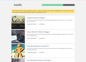 kwidik.blogspot.com