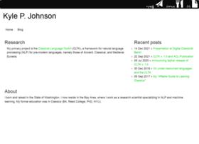 kyle-p-johnson.com