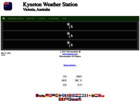 kynetonweather.info