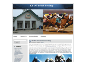 kyofftrackbetting.com