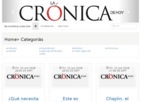 la-cronica.com.mx