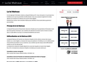 la-loi-malraux.com