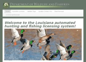 la.wildlifelicense.com
