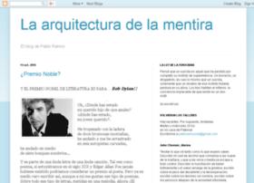 laarquitecturadelamentira.blogspot.com