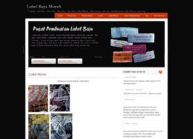 labelbajumurah.com