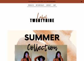 labeltwentynine.com