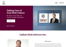 labhartriskadvisors.com
