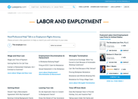 labor-employment-law.lawyers.com
