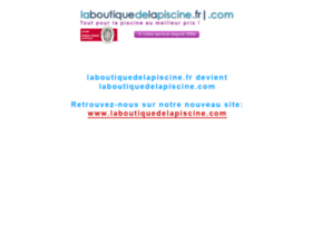 laboutiquedelapiscine.fr