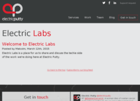 labs.electricputty.co.uk