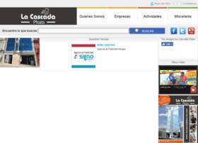 lacascadaplazatacna.com