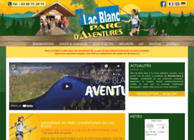 lacblancparcdaventures.com