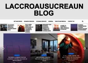 laccroausucreaunblog.com