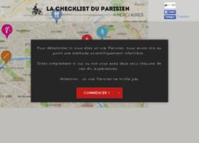 lachecklistduparisien.fr