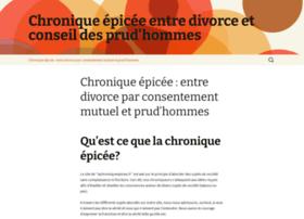 lachroniqueepicee.fr