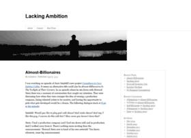 lackingambition.com