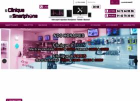 lacliniquedusmartphone.com