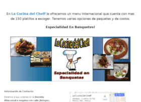 lacocinadelcheff.com