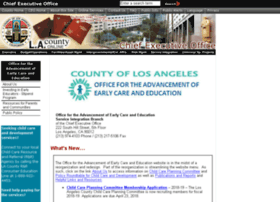 lacountychildcare.org