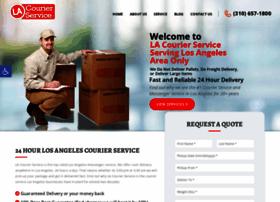 lacourierservice.com