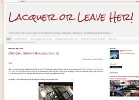 lacquerorleaveher.blogspot.com