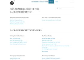 lacrosserecruits.zendesk.com