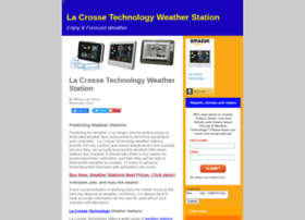 lacrossetechnologyweatherstation.com