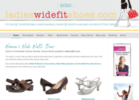 ladies-wide-fit-shoes.com