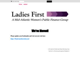 ladiesfirst.wildapricot.org