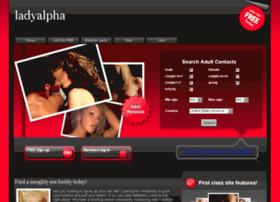 ladyalpha.diydating.com