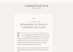 ladybirdfoodtruck.com
