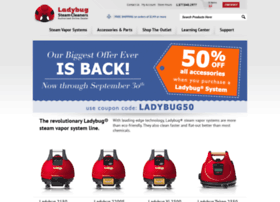 ladybugsteamcleaners.com