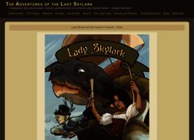 ladyskylark.thecomicseries.com