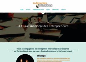 lafinancieredesentrepreneurs.com