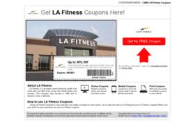 lafitness.couponrocker.com