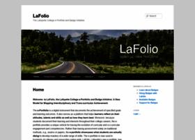 lafolio.lafayette.edu