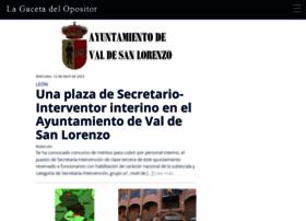 lagacetadelopositor.es