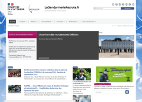 lagendarmerierecrute.fr