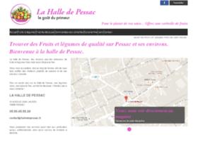lahalledepessac.fr