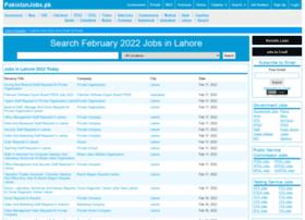 lahore.pakistanjobs.pk