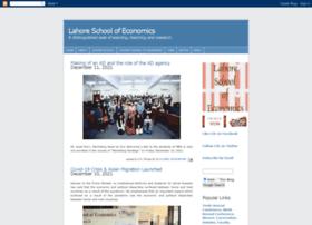 lahoreschoolofeconomics.blogspot.com