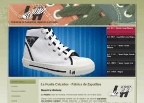 lahuellacalzados.com