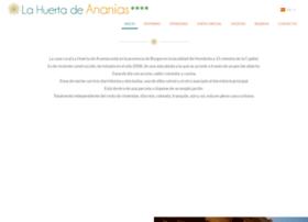 lahuertadeananias.com