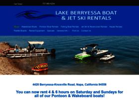 lakeberryessaboats.com