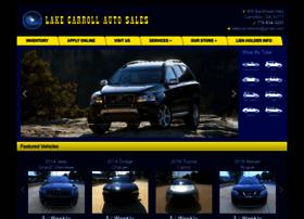 lakecarrollautosales.com