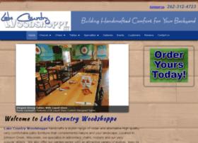 lakecountrywoodshoppe.com