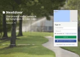 lakecovetx.nextdoor.com