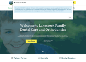 lakecreekdental.com